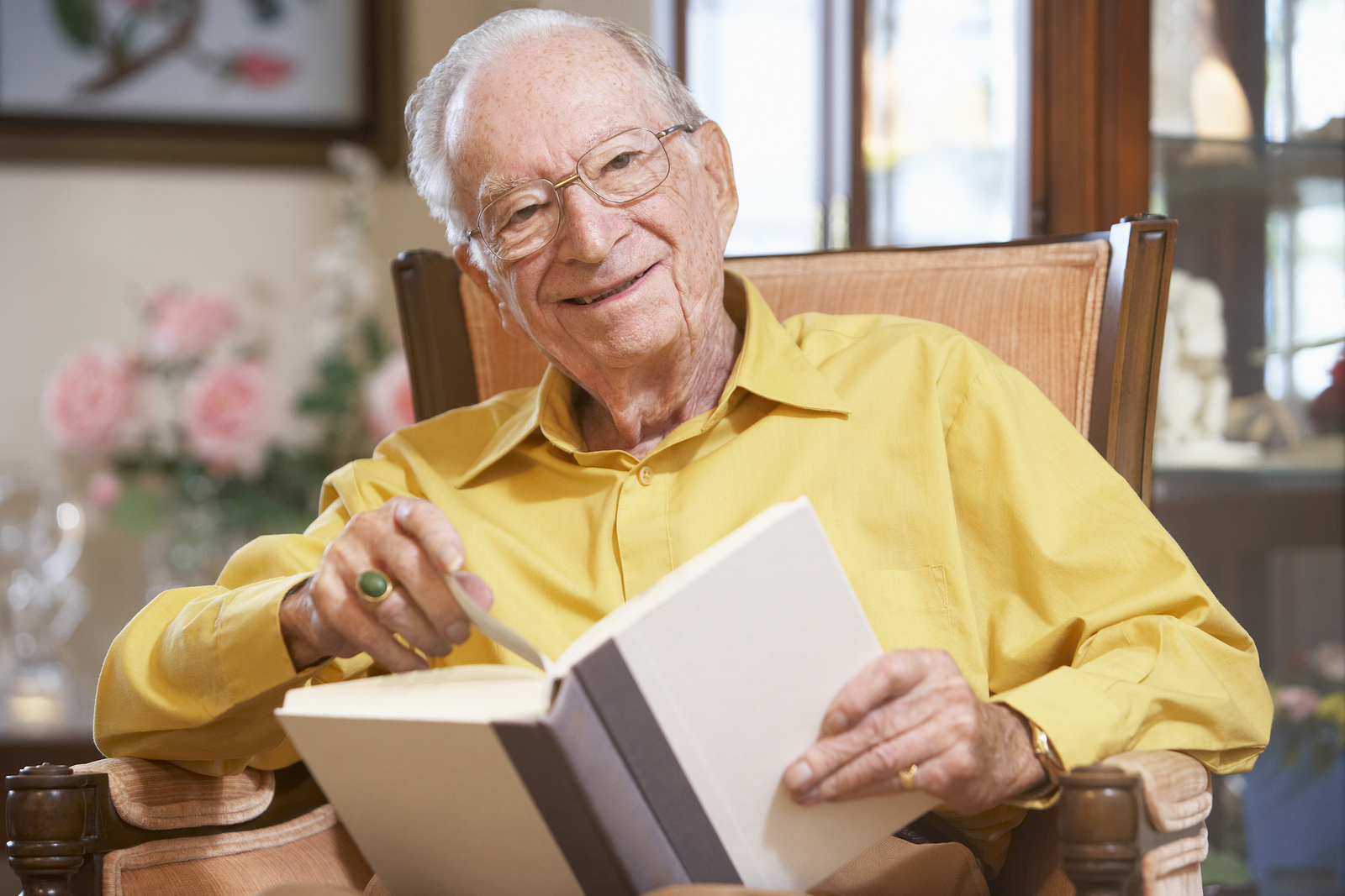 Senior Care in South Park PA: Benefits of a Library Card