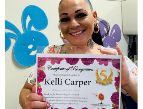 Kelli Carper 5 years of Service!