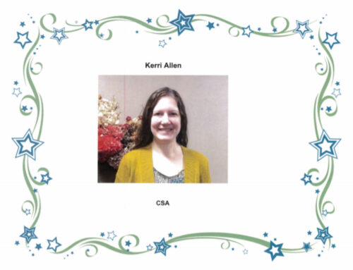 This weeks 52 finest is Kerrie Allen!