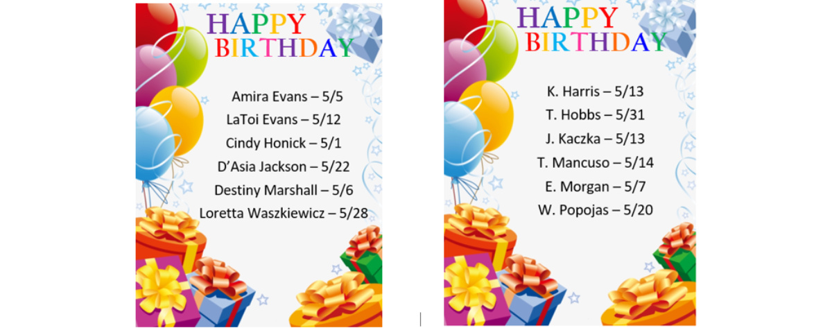 Home Care in Pittsburgh PA: Birthday's