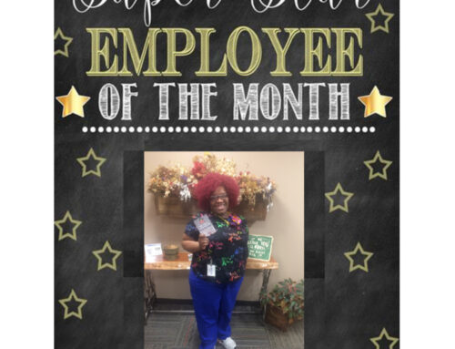 Employee Of The Month Of April Is Cydney Spence!