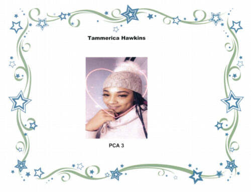 This weeks 52 finest is Tammerica Hawkins