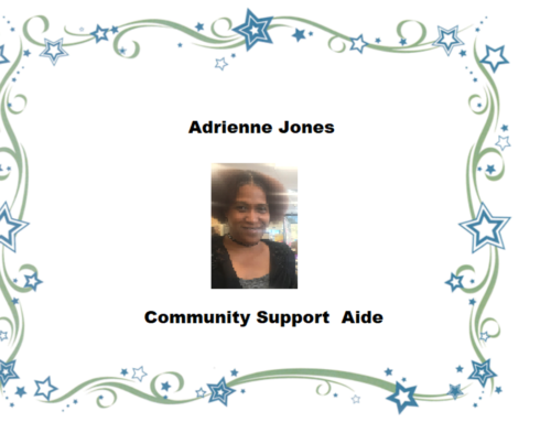 52 Finest this week belongs to Adrienne Jones