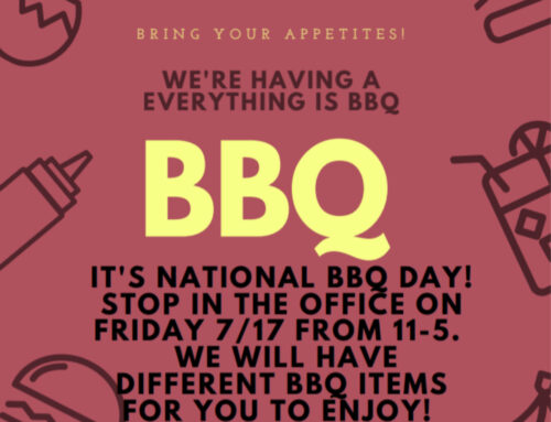 Come and Celebrate National BBQ day!